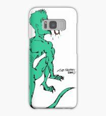 Green Psycho Lizard Samsung Galaxy Case/Skin
