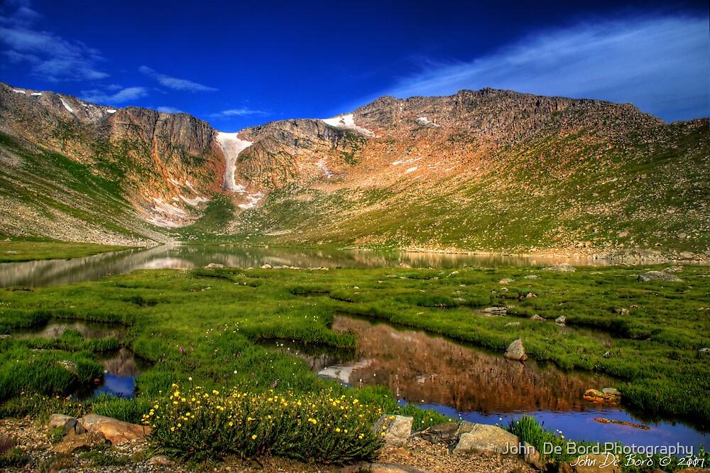Summit Lake by John  De Bord Photography