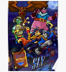 Sly Cooper and the Thievius Raccoonus Poster
