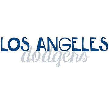 Los Angeles Dodgers by aleighseitz
