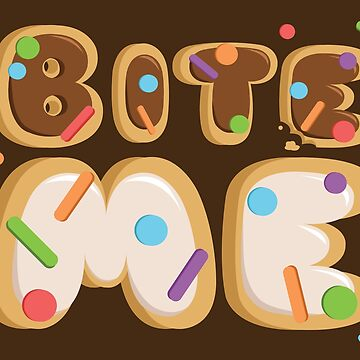 Bite Me Cookie Letters by littobitto