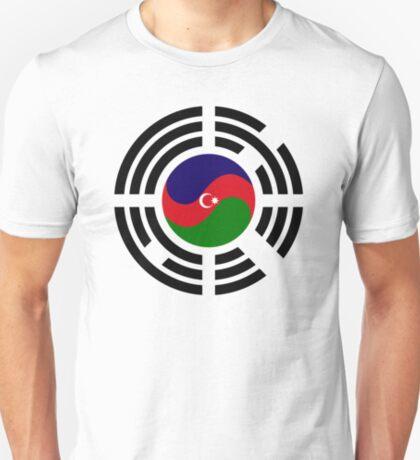 Korean Azerbaijan Multinational Patriot Flag Series T-Shirt