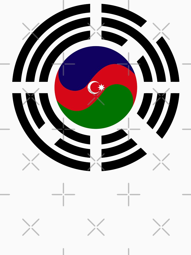 Korean Azerbaijan Multinational Patriot Flag Series by carbonfibreme