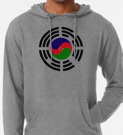 Korean Azerbaijan Multinational Patriot Flag Series Lightweight Hoodie
