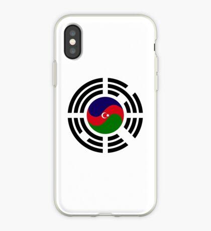 Korean Azerbaijan Multinational Patriot Flag Series iPhone Case