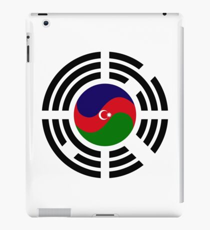Korean Azerbaijan Multinational Patriot Flag Series iPad Case/Skin
