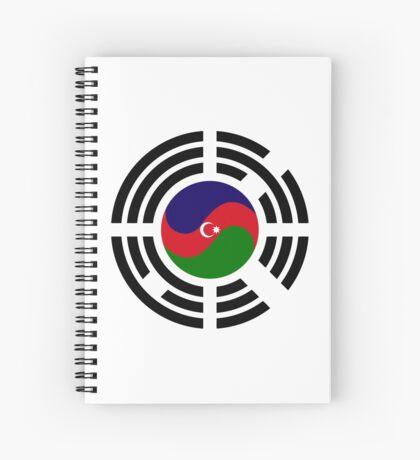 Korean Azerbaijan Multinational Patriot Flag Series Spiral Notebook