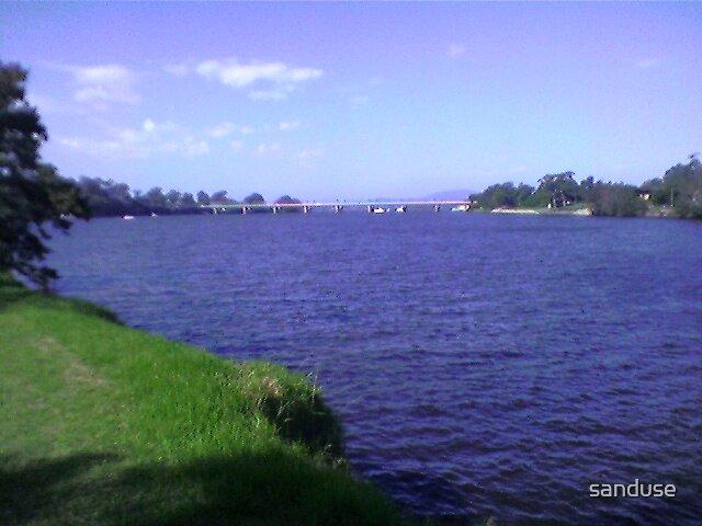 nowra nsw bridge by sanduse