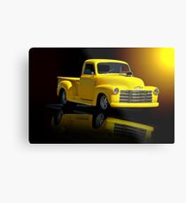 1953 Chevrolet Pickup 'Reflections of Yesterday' Metal Print