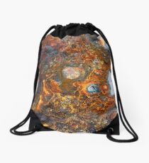 Rust Drawstring Bag