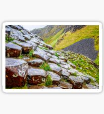 Ireland 'Rocks' - Giants Causeway, Northern Ireland #2 Sticker