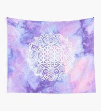 Flower Of Life (Batik 3) Wall Tapestry