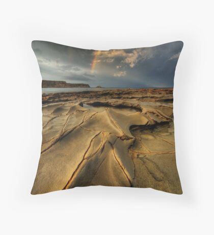 Storming the Cape  Throw Pillow