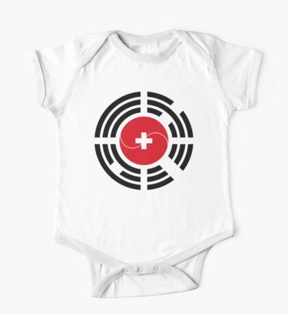 Korean Swiss Multinational Patriot Flag Series Kids Clothes