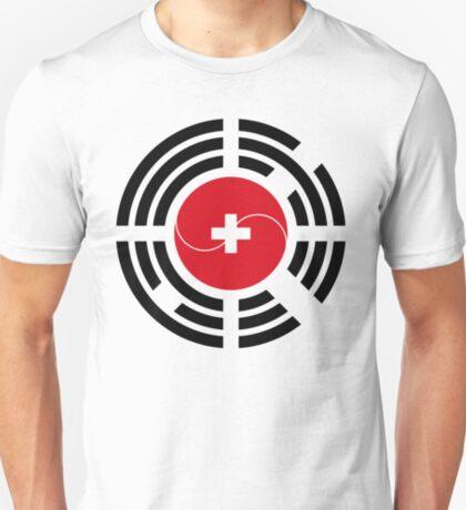 Korean Swiss Multinational Patriot Flag Series T-Shirt