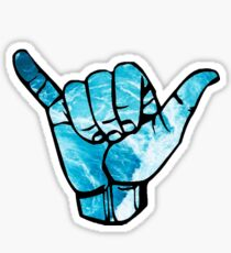 Hang Loose - ocean Sticker