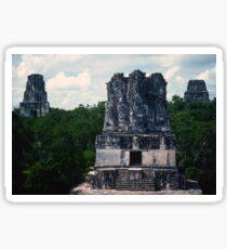 Temples Tikal Sticker