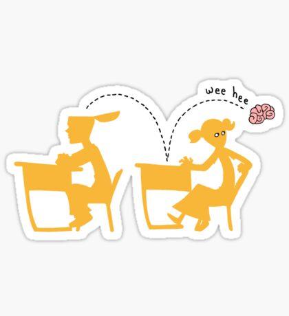 Wee-Hee Sticker