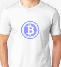 Bitcoin Blue Unisex T-Shirt