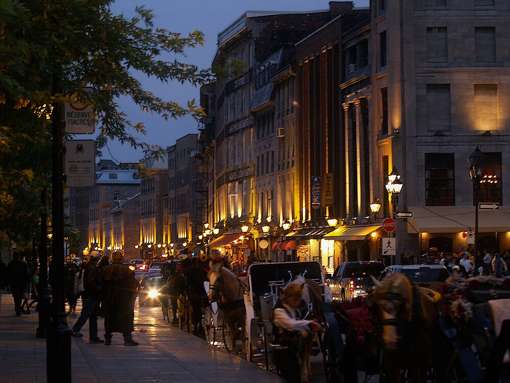 Old Montréal by BrigitteC