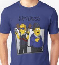 Hot Fuzz - Simpsons Style! Unisex T-Shirt