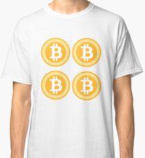 Bitcoin 4some Classic T-Shirt