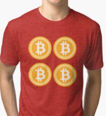 Bitcoin 4some Tri-blend T-Shirt