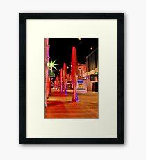 """Aglow"" Framed Print"