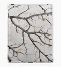 Macro photo of a dry gorgonian coral iPad Case/Skin