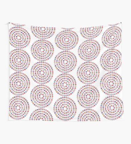 We Are America Multinational Patriot Flag Collective 1.0 Wall Tapestry