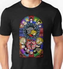 Fullmetal Alchemist Stained Glass Unisex T-Shirt