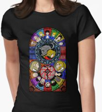 Fullmetal Alchemist Stained Glass Women's Fitted T-Shirt