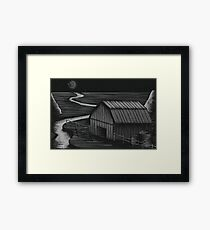 Farmscape Framed Print
