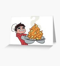 Marco's Super Awesome Nachos Greeting Card