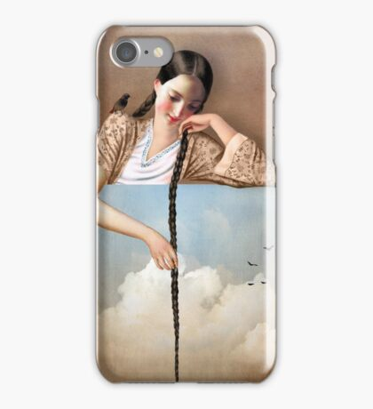 Touch The Sky (Rapunzel) iPhone Case/Skin