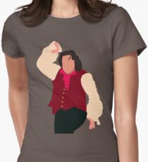 There's no man in town half as manly... Womens Fitted T-Shirt
