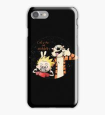 Calvin And Hobbes Funny Face iPhone Case/Skin