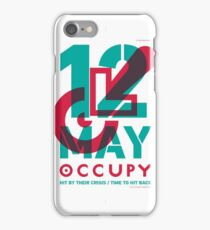 Protest Poster - Occupy London (2012) iPhone Case/Skin