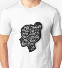 To Kill a Mockingbird, Quote Silhouette  T-Shirt