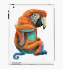 Parrot/Monkey mash-up iPad Case/Skin