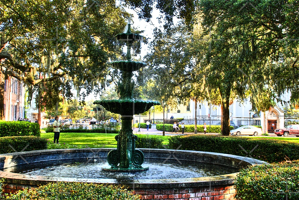 Fountain in the Park by photorolandi
