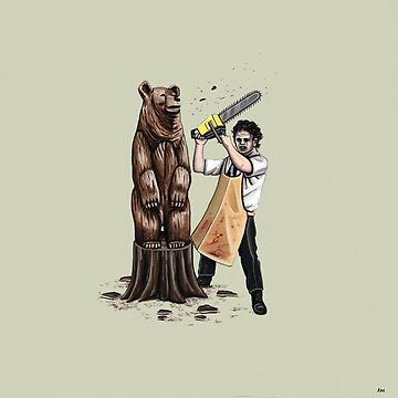 Leatherface's Secret Hobby by KEssenpreis