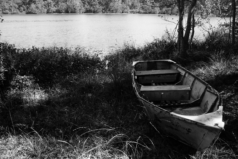 Lake of Memories III (B/W Version) by Chase Cody