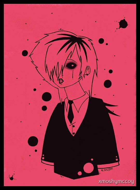 Red Kyo by xmoshymccoy