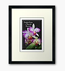 Gratitude Creates A Vision For Tomorrow Framed Print
