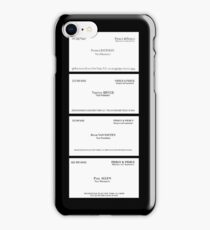 American Psycho Business Cards iPhone Case/Skin