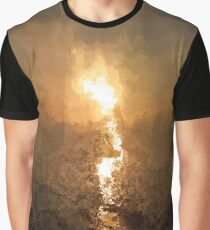 Impressionist Sunrise Graphic T-Shirt