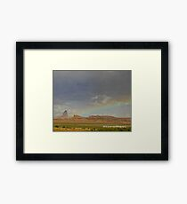 Arizona Rainbow Framed Print