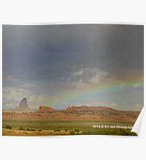 Arizona Rainbow Poster