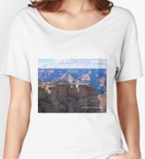 Grand Canyon Viewing Area Women's Relaxed Fit T-Shirt